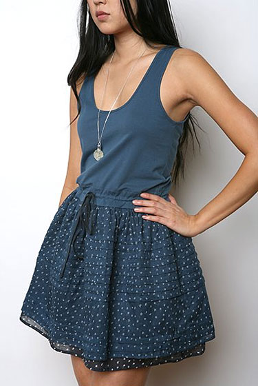 "ByCORPUS star-print modern peasant dress, $49.99 at <a href=""http://nymag.com/listings/stores/urban_outfitters00/"">Urban Outfitters</a>."