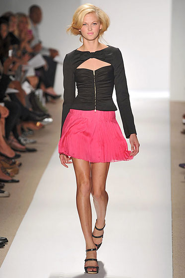 "A cutout at <a href=""http://nymag.com/fashion/fashionshows/2010/spring/main/newyork/womenrunway/tuleh/"">Tuleh</a>."