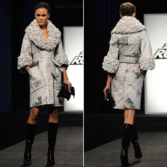 <strong>NEWSPAPER IS THE NEW FUR TRENCH</strong>