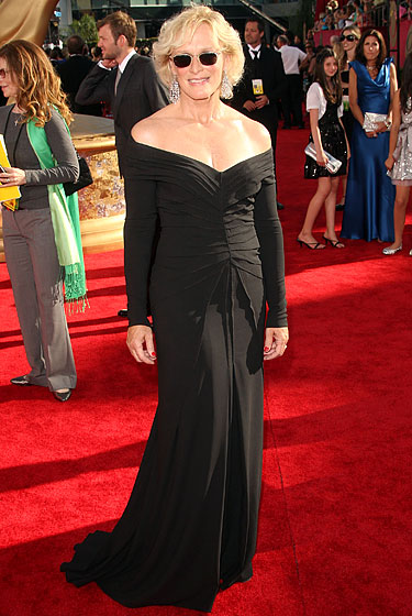 Glenn Close in Zac Posen.