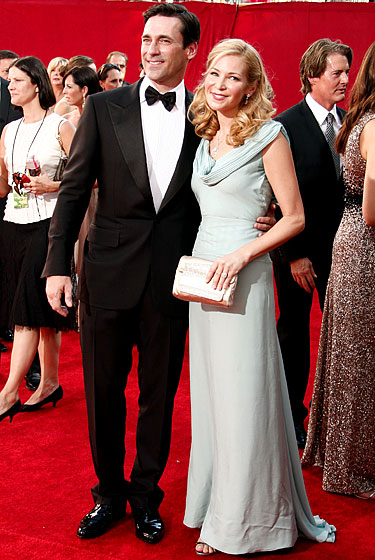 Jon Hamm and Jennifer Westsfeldt.