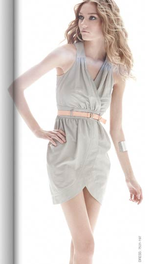 Sculpted Stone dress, $248.
