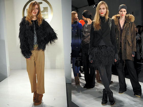 "<a href=""http://nymag.com/fashion/fashionshows/2010/fall/main/newyork/womenrunway/toryburch/ "">Tory Burch</a> gave basic black some texture."
