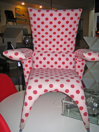 Forgive me, Amy Sedaris, if I have you pegged completely wrong, but this French chair is something that I think would appeal to you.