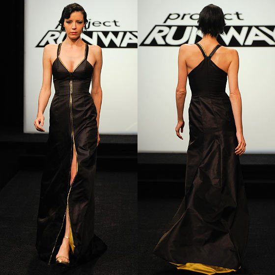 <strong>Night Look: Zipper Up! </strong>