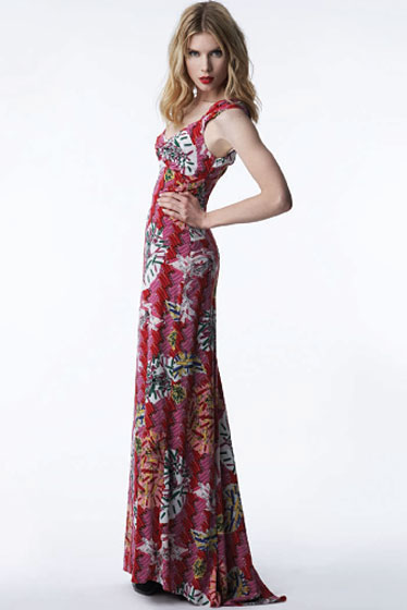 Gown in Safety-Pin Print - $69.99