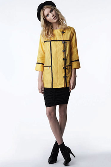 Raincoat in Yellow - $49.99<br>