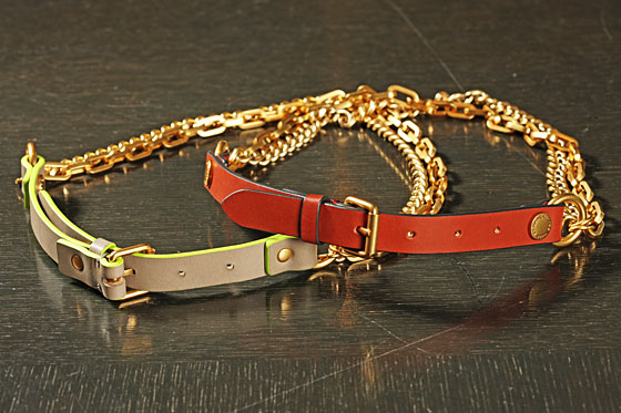 Ruth Belts, $178 each. 