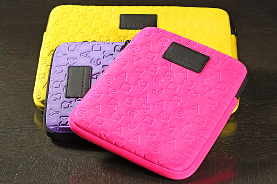 iPad Cases, $38, and Laptop Case, $58. 