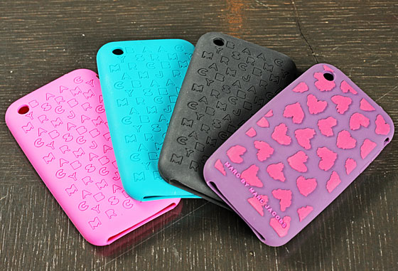 Logo iPhone Cases, $28, and Heart iPhone Case, $32.