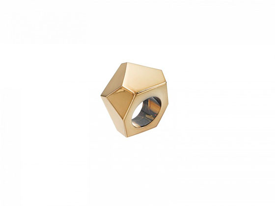 Faceted ring, $11.