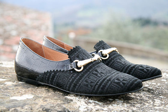 Runstitch loafers, $148.