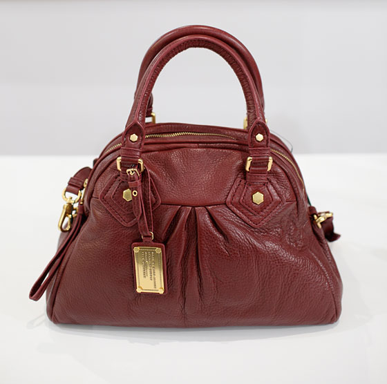 Marc by Marc Jacobs red leather bag, $458.