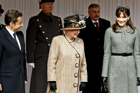 nicolas sarkozy carla bruni. Carla Bruni-Sarkozy landed in