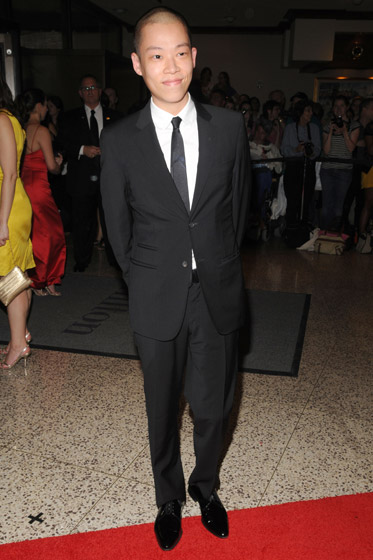 Aw, Jason Wu looks adorable. He's come so far so fast!