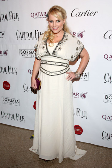 We have a feeling Meghan McCain does well enough to buy fancy dresses at places other than Forever 21.
