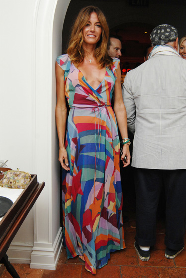 We don't hate the shooting stars on future Real Housewife Kelly Killoren Bensimon's dress. Is that so wrong?