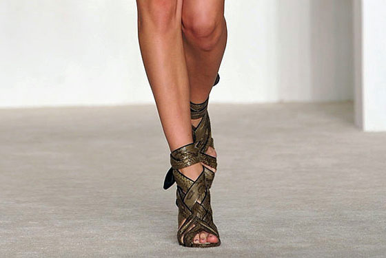 "The gladiator reinvented by <a href=""http://nymag.com/fashion/fashionshows/2009/fall/main/newyork/womenrunway/dereklam/"">Derek Lam</a>: tougher, sexier, and chicer than the ubiquitous versions."