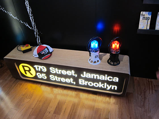 718 Made in Brooklyn also turns recycled subway signs into furniture.