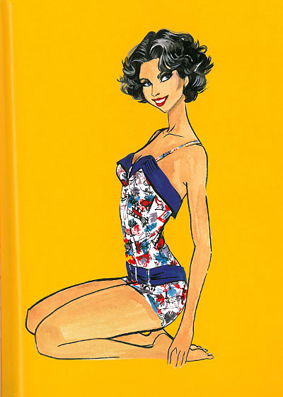 When Smith's mother landed a job as a private tennis instructor at the Coral Beach Club in Bermuda, she bought this bathing suit at Simpsons on Piccadilly in London before flying out.