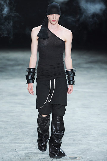 Even Rick Owens hitched a ride on the flesh train, albeit in his own gothy, alabaster way.