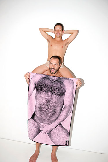 We predict these towels will be super-popular on Fire Island.
