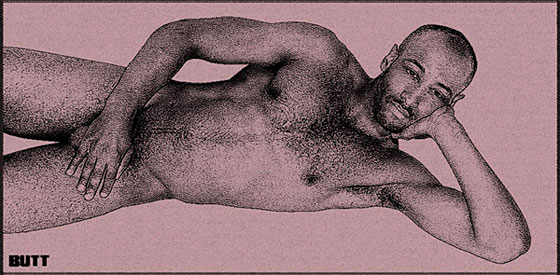 This is a <em>BUTT</em> towel exclusive. Local photographer Devin Elijah is new to the magazine's modeling stable.