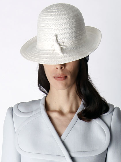 "Rounded straw hats in every color of the rainbow made appearances at <a href=""http://nymag.com/fashion/fashionshows/2011/resort/main/newyork/womenrunway/marcjacobs/"">Marc Jacobs</a>."