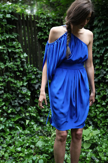 Odeon dress (fall prices range from $350 to $430).