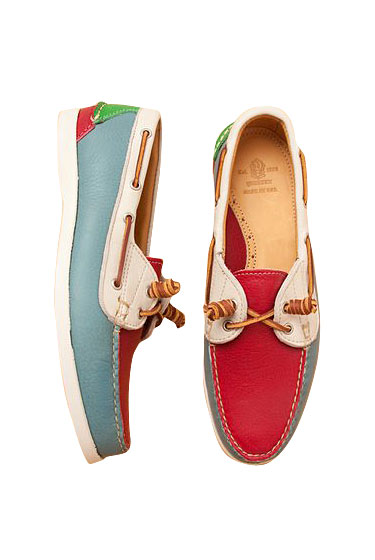 "Yuketen Surfer Moc boat shoes, $330 at <a href=""http://nymag.com/listings/stores/opening-ceremony/"">Opening Ceremony</a> and <a href=""http://www.openingceremony.us/products.asp?menuid=1&catid=16&productid=18305"">online</a>."