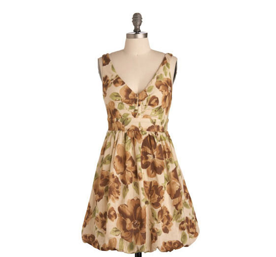 "Make Arrangements dress, $53.99 <a href=""http://www.modcloth.com/store/ModCloth/Womens/Dresses/Make+Arrangements+Dress"">online</a>."