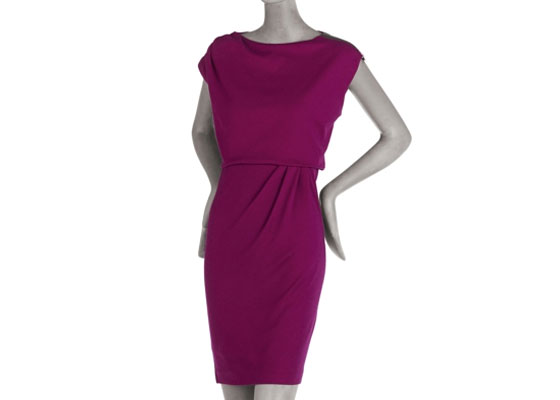 "Diane Von Furstenberg wool zip-shoulder dress, $365 <a href=""http://www.cusp.com/shoponline/product.aspx?folderId=/shoponline/apparel/dresses/alldresses&itemId=T2NMU&ecid=CSPALRJ84DHJLQkR4&ci_src=14110925&ci_sku=T2NMU"">online</a>."