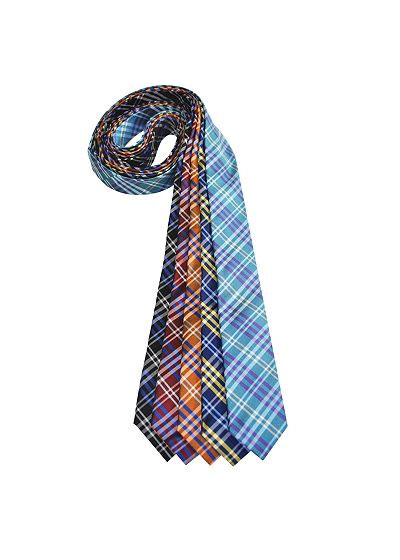 "Chaps plaid narrow silk ties, $32 each <a href=""http://www.kohls.com/kohlsStore/mens/accessories/ties1/PRD~644333/Chaps+Plaid+Narrow+Silk+Tie.jsp?prtID=pfx&src=k108283&cm_mmc=Performics-_-Affiliate-_-ShopStyle.com-_-Primary"">online</a>."