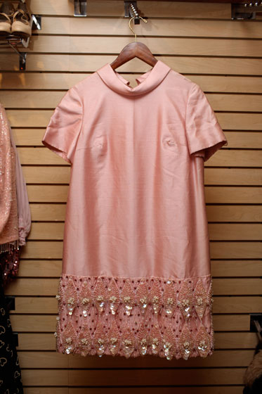 <strong>Pink shell dress, $160</strong><br>