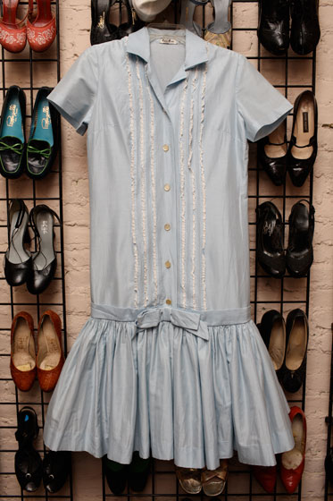 <strong>Roos Brothers of California cotton shirt dress, $50</strong><br>