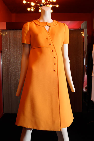 <strong>Courreges dress, $1,400</strong><br>
