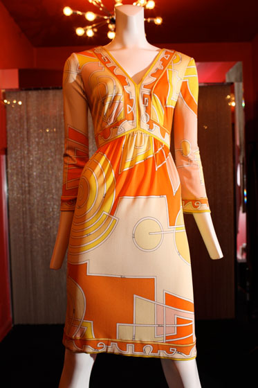 <strong>Emilio Pucci cocktail dress, $900</strong><br>