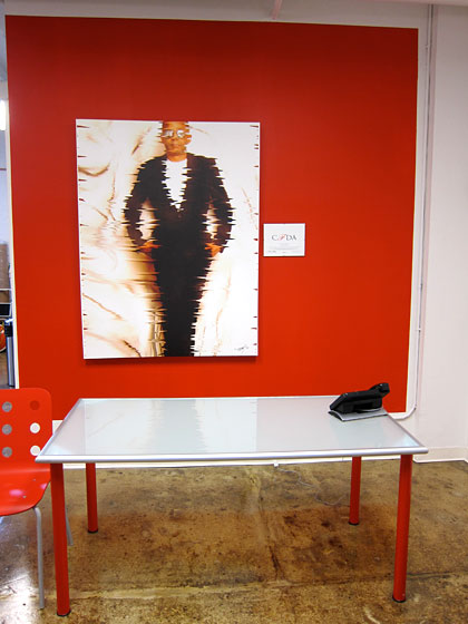 "I also visited Stephen Burrows in his showroom after the launch of his new line for the <a href=""http://nymag.com/daily/fashion/2010/07/slideshow.html"">Harlem Target store</a>. Burrows left an indelible impression on me from the Studio 54 days of yore, where he was always the coolest person on the dance floor."