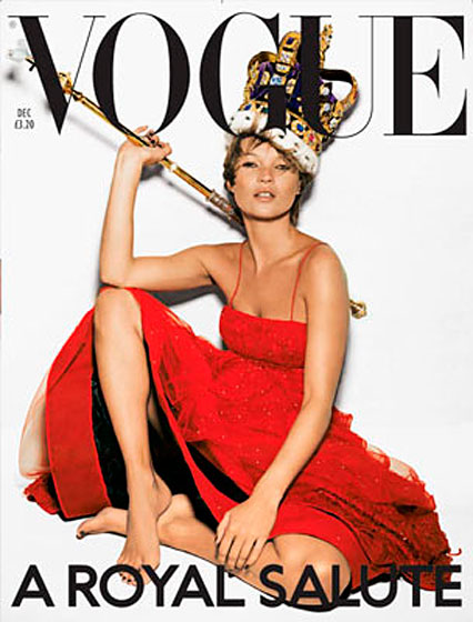 Queen Kate FTW. <br>December 2001, shot by Nick Knight.