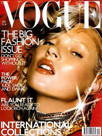 Our personal favorite .<br>September 2000, shot by Nick Knight.