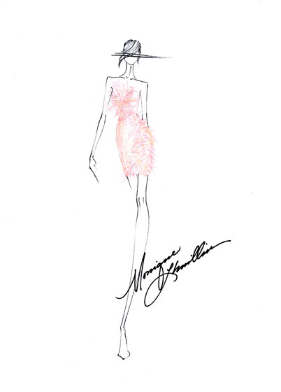 """Euphoria""<br /><br /><small><a href=""http://nymag.com/fashion/fashionshows/designers/bios/moniquelhuillier/"">See more from Monique Lhuillier »</a></small>"