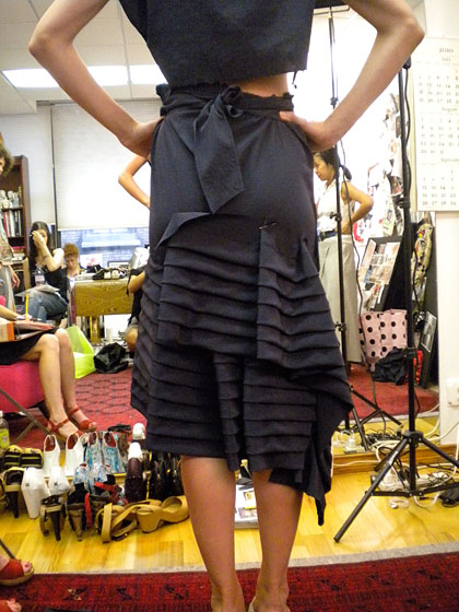 """Work in Progress""<br /><br /><small><a href=""http://nymag.com/fashion/fashionshows/designers/bios/nanettelepore/"">See more from Nanette Lepore »</a></small>"