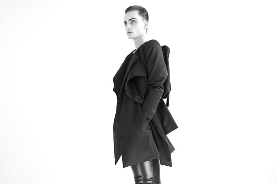 """Unisex""<br /><br /><small><a href=""http://nymag.com/fashion/fashionshows/designers/bios/radhourani/"">See more from Rad Hourani »</a></small>"