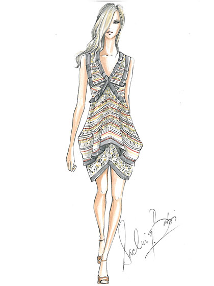 """Tuscany""<br /><br /><small><a href=""http://nymag.com/fashion/fashionshows/designers/bios/sachinandbabi/"">See more from Sachin and Babi »</a></small>"
