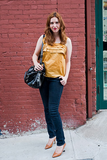 Robin Wellington, 30, a marketing manager who lives in Park Slope, Brooklyn.