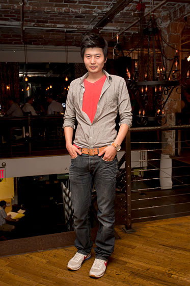 Yong Jung, 27, a freelancer who lives in the financial district.