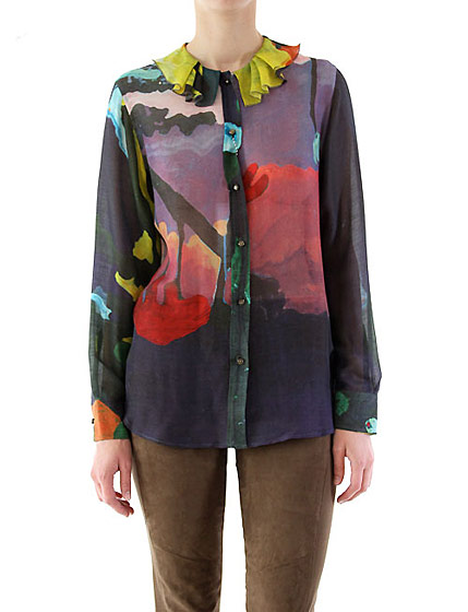United Bamboo multicolor top, $288.