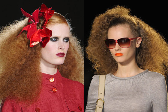Frizz fantasia at Marc Jacobs and Marc by Marc Jacobs.