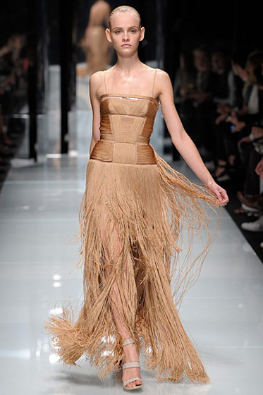 There was a bunch of fringe in Milan, and who better to manage it than Donatella?