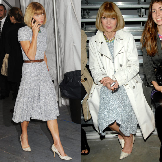At Tommy Hilfiger, and around the tents, September 12.